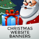 2 Christmas Website Banners - GraphicRiver Item for Sale