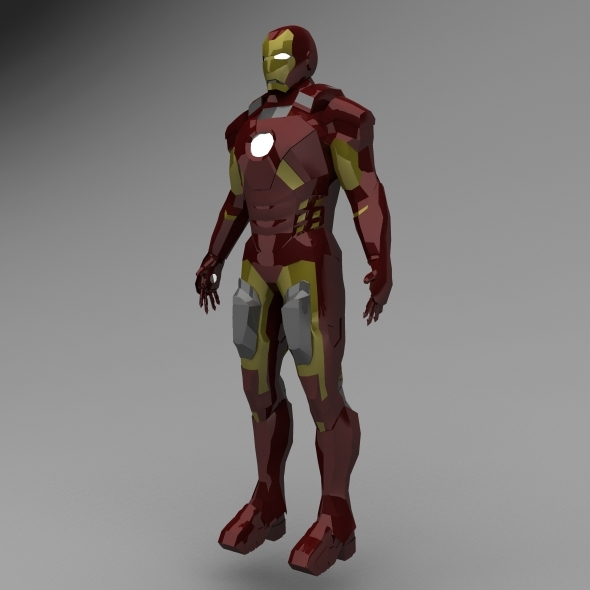 Iron Man - 3DOcean Item for Sale