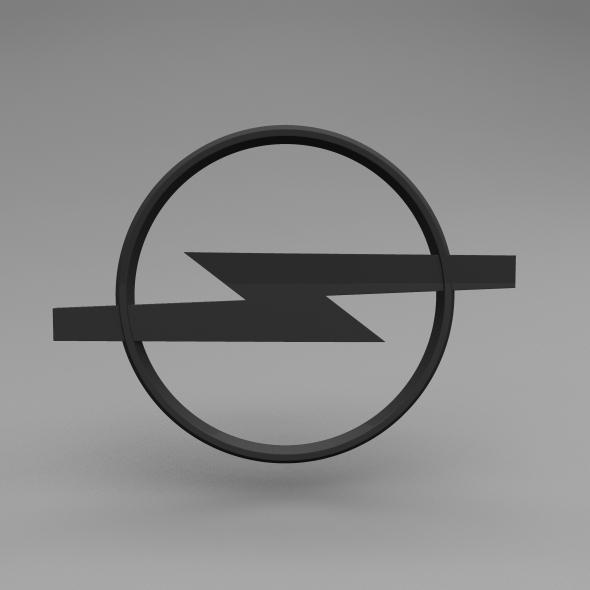 Opel Logo - 3DOcean Item for Sale