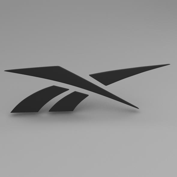 Reebok Logo - 3DOcean Item for Sale