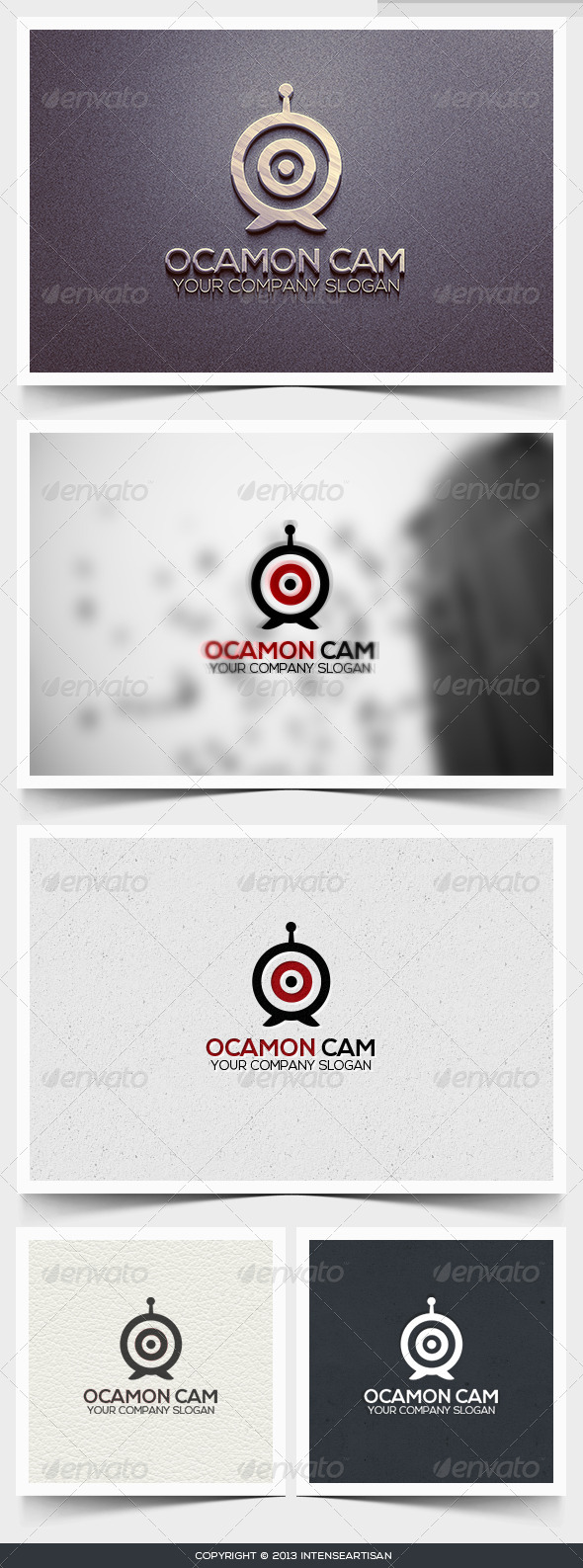 Ocamon Cam Logo Template - Objects Logo Templates