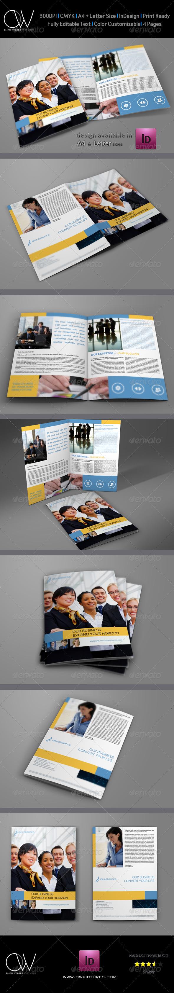 Company Brochure Bi-Fold Template Vol.11 - Corporate Brochures