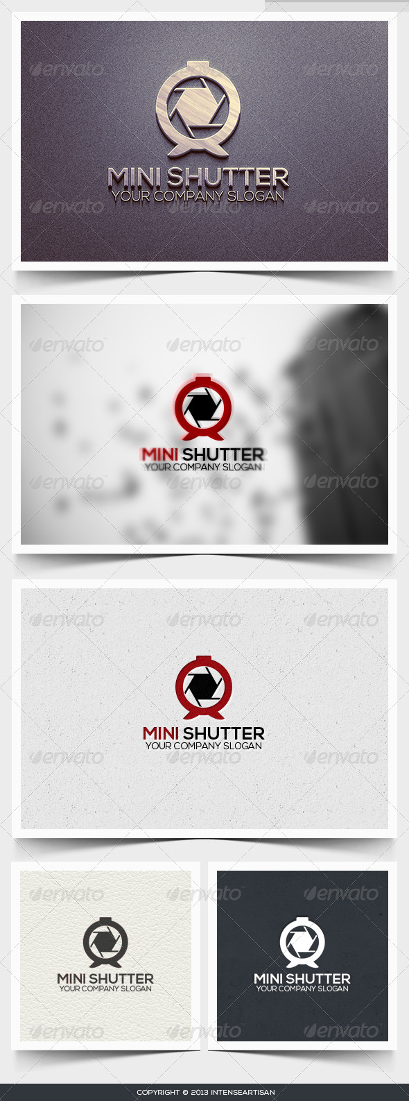 Mini Shutter Logo Template - Objects Logo Templates