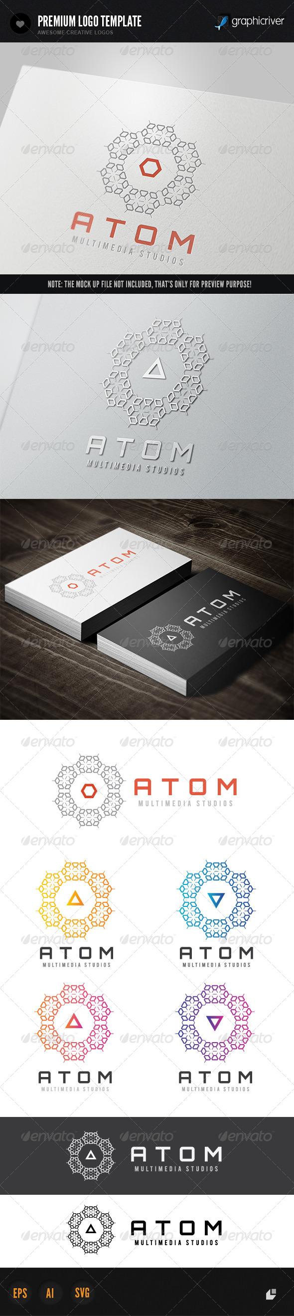 Atom Media - Objects Logo Templates
