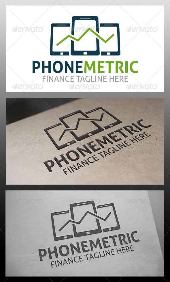 Phone Metrics Logo - Objects Logo Templates