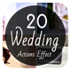 20 Wedding Actions - GraphicRiver Item for Sale