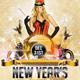 New Years Burlesque Party Flyer - GraphicRiver Item for Sale