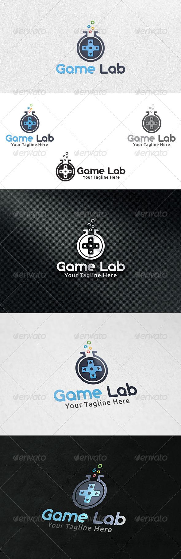 Game Lab - Logo Template - Symbols Logo Templates