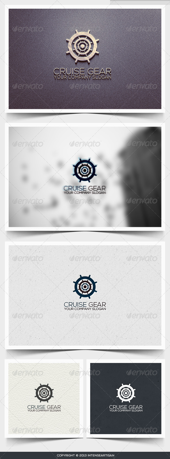 Cruise Gear Logo Template - Objects Logo Templates
