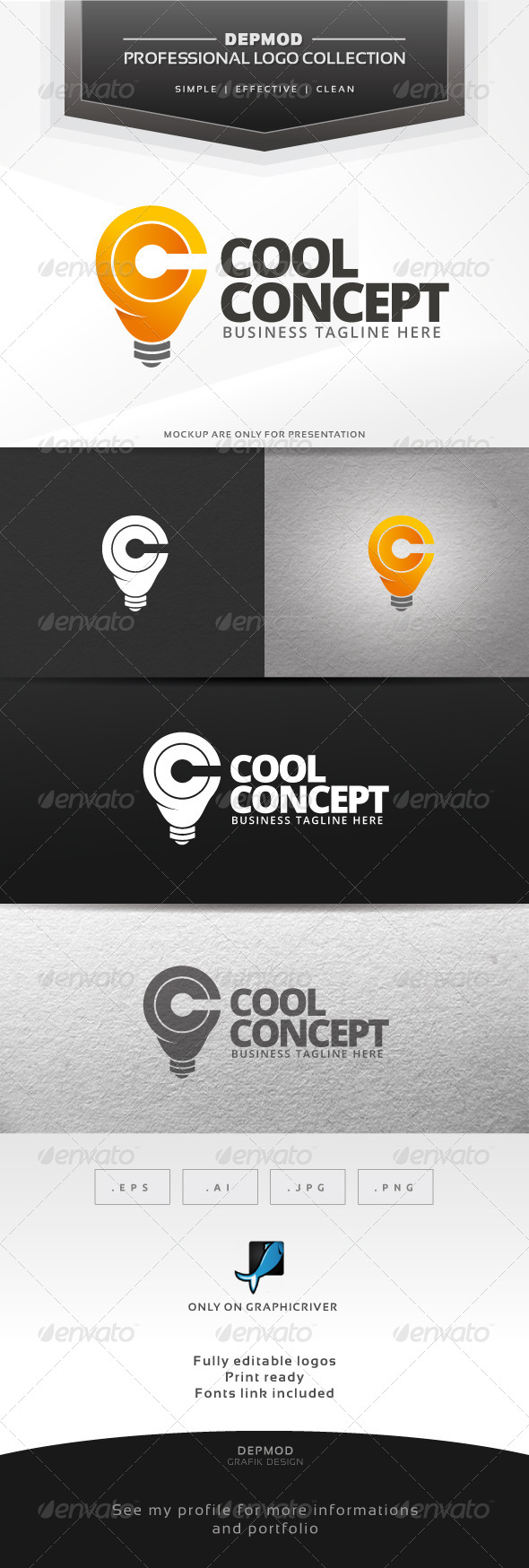 Cool Concept Logo - Symbols Logo Templates