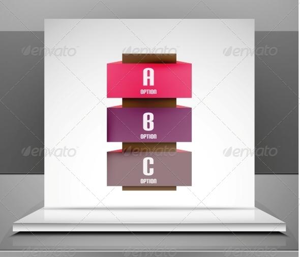 Modern Vector Business Stripes Infographic Design - Miscellaneous Vectors
