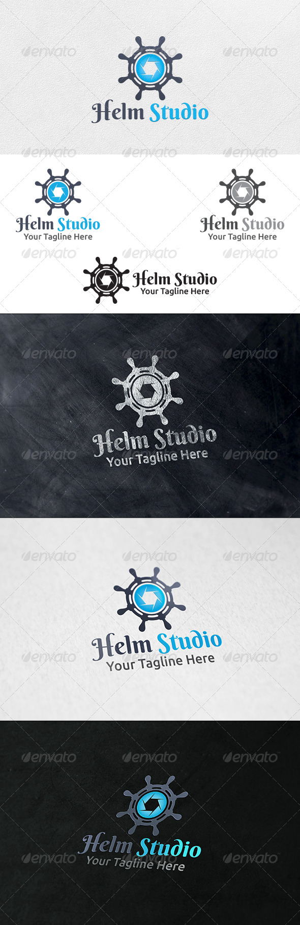 Helm Studio - Logo Template - Symbols Logo Templates