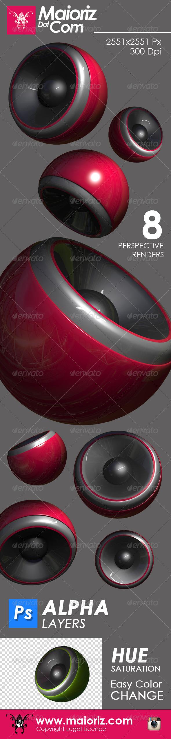 Sound Buffer 3D Element - 3D Backgrounds