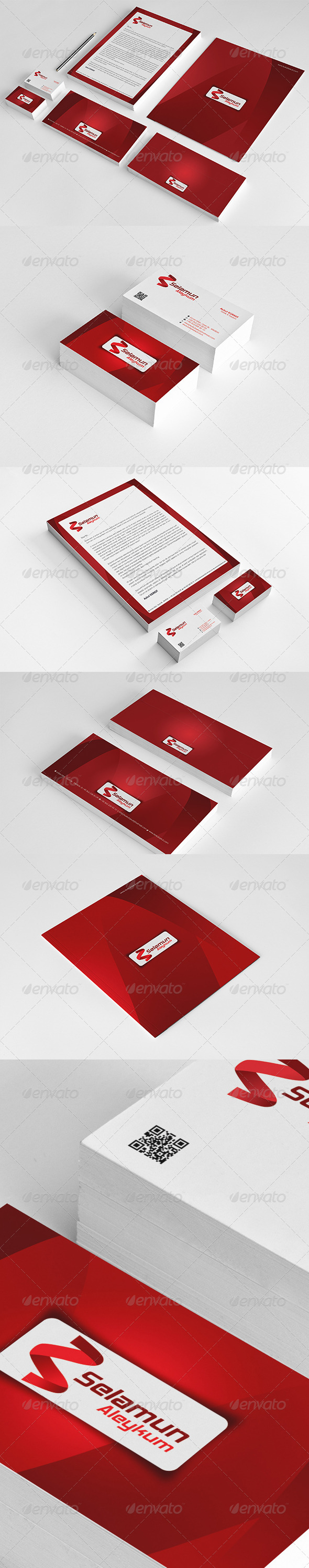 Selamun Corporate Identity Package  - Stationery Print Templates