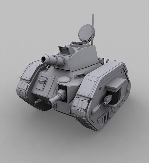Leman Russ Tank  - 3DOcean Item for Sale
