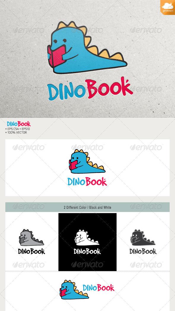 DINO BOOK - Animals Logo Templates