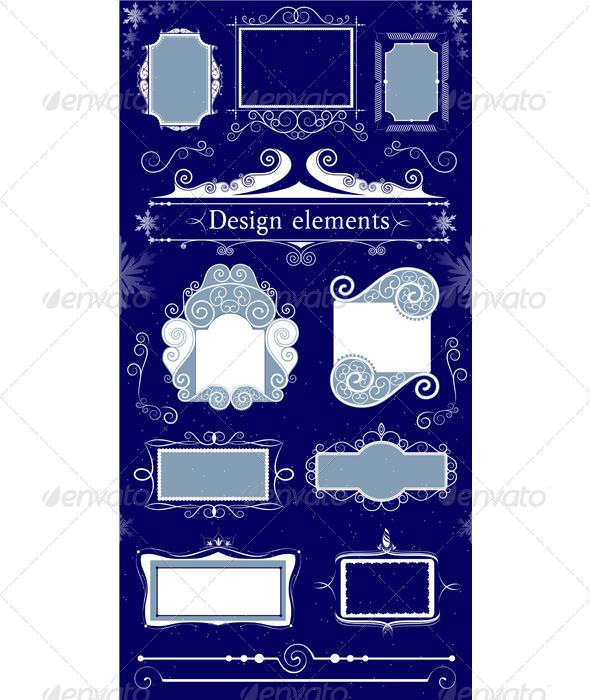 Elegant Frame - Borders Decorative