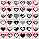 36 Heart Icons Set - GraphicRiver Item for Sale