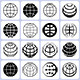 16 Globe Icons Set - GraphicRiver Item for Sale