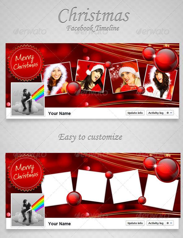 Christmas FB Timeline V7 - Facebook Timeline Covers Social Media