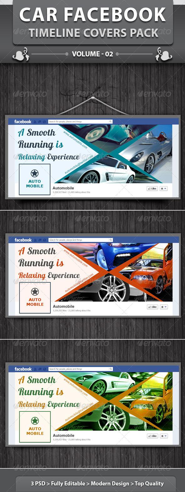 Automobile Business FB Timeline | Volume 2 - Facebook Timeline Covers Social Media