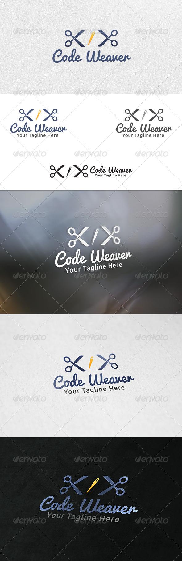 Code Weaver - Logo Template - Symbols Logo Templates