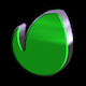 3D Logo - Light Metal - Pack of 2