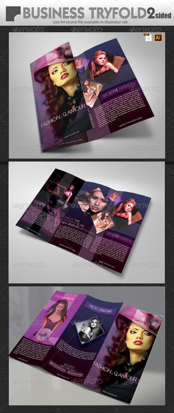 Fashion Brochure Design  - Brochures Print Templates