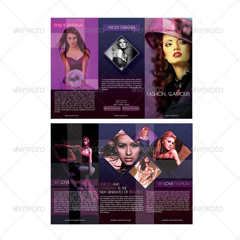 Fashion Brochure Design