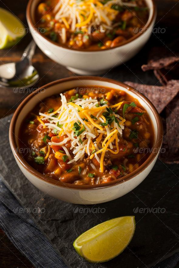 Soutwestern Santa Fe Soup - Stock Photo - Images
