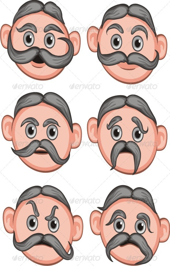 Man Expression - People Characters
