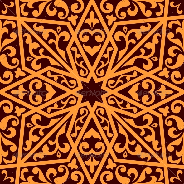 Islamic or Arabic Seamless Pattern - Patterns Decorative