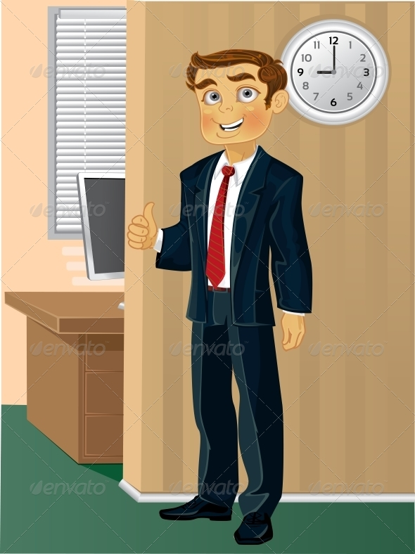 Time Come to Work - People Characters