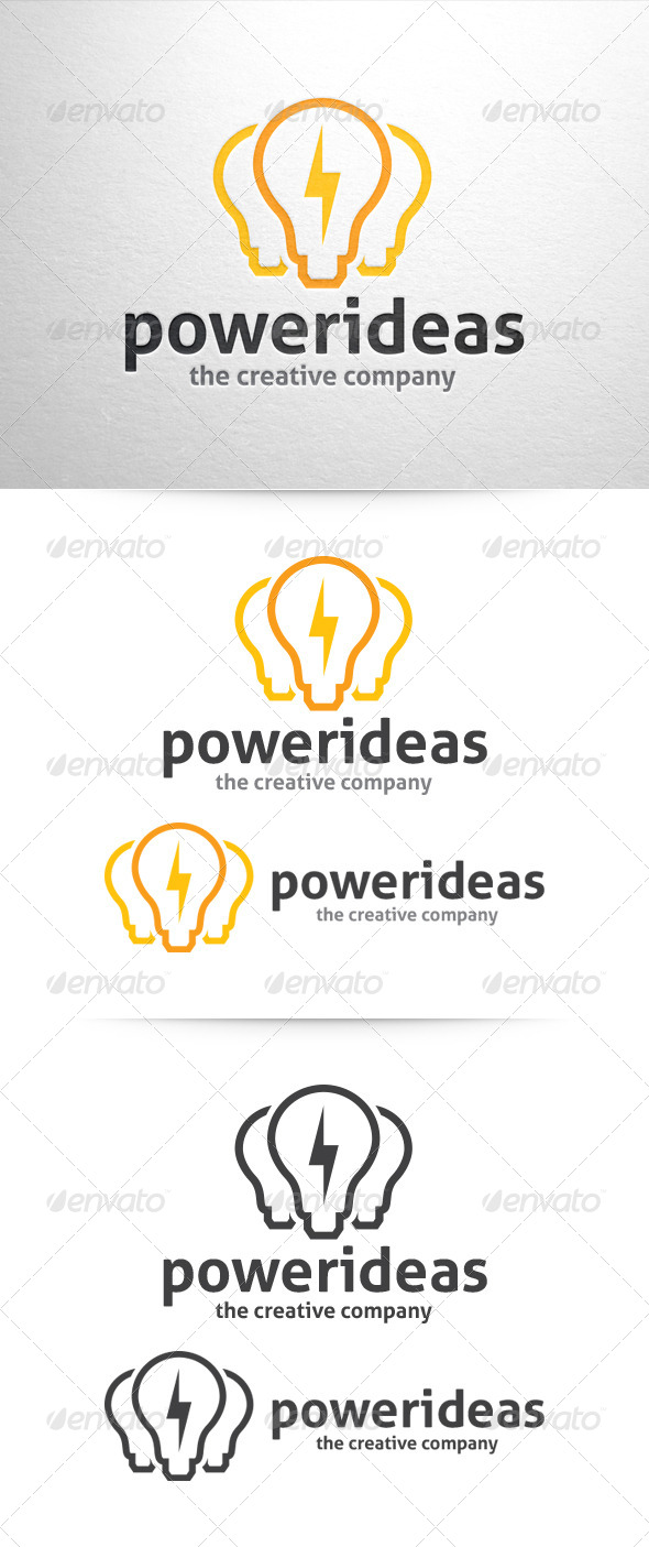 Power Ideas Logo - Objects Logo Templates