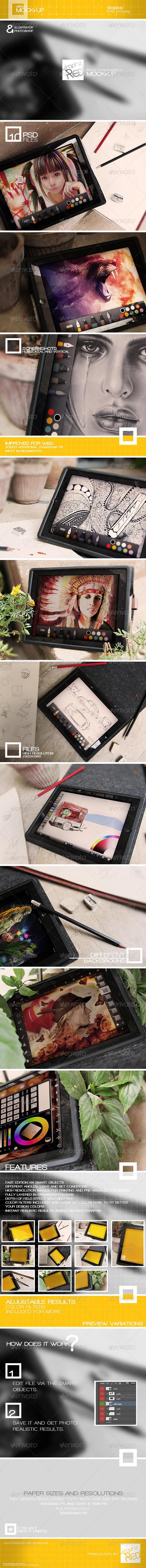 Mock-up 001 - Mobile Displays
