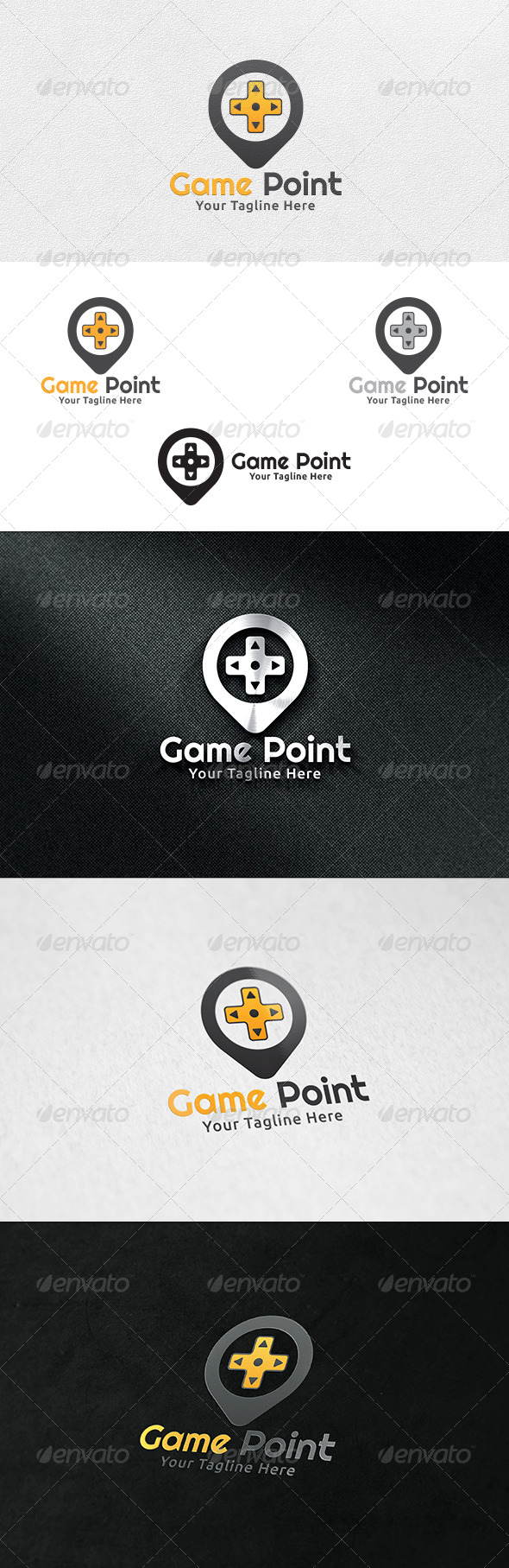 Game Point - Logo Template - Symbols Logo Templates