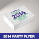 New Year's 2014 Party Flyer Template - GraphicRiver Item for Sale