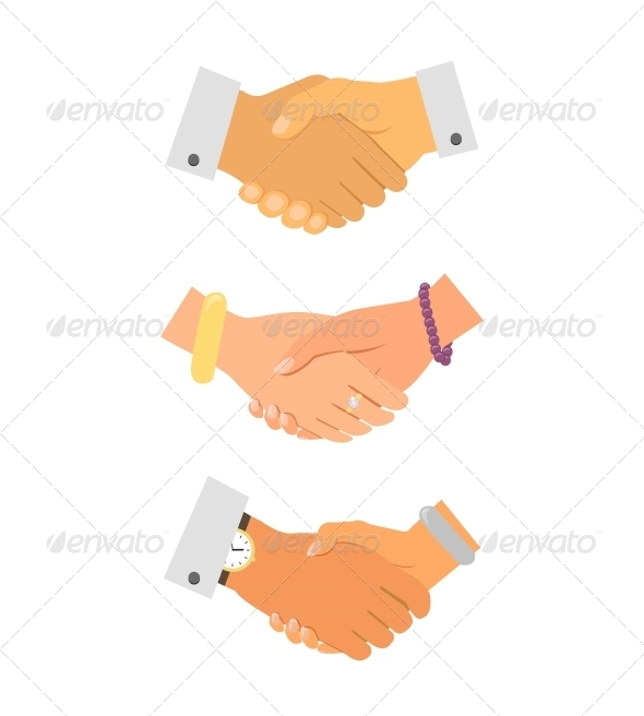 Business Handshake Iconset - Concepts Business