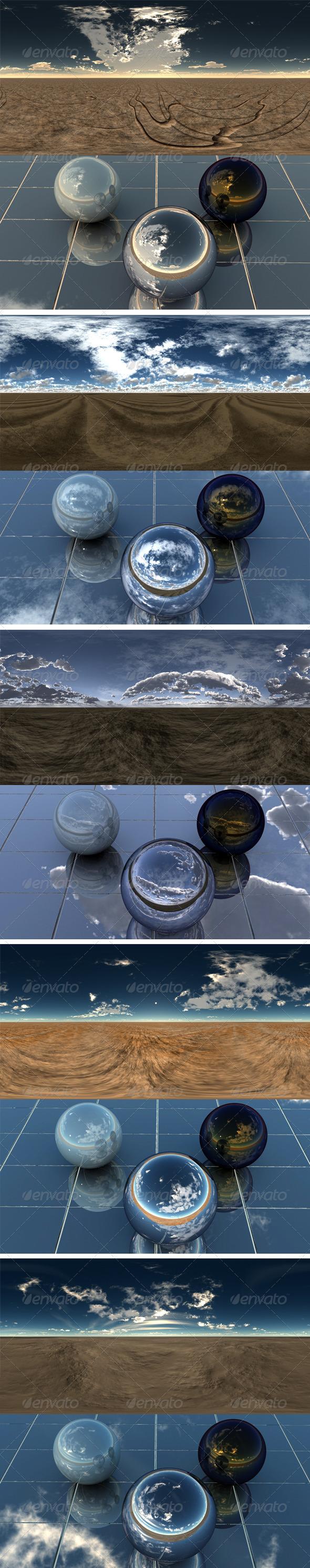 Pack - Desert 7 - 3DOcean Item for Sale