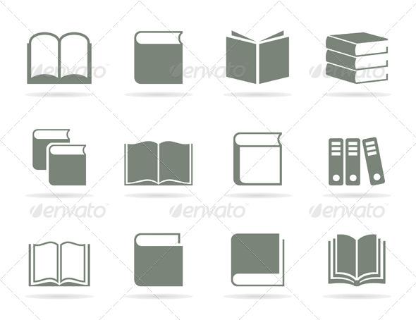 Book Icon 2 - Miscellaneous Vectors
