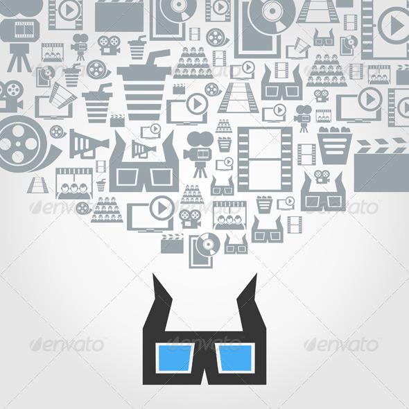 Cinema - Miscellaneous Vectors