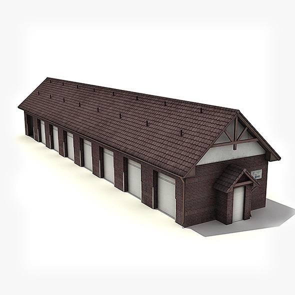 Big Garage Warehouse - 3DOcean Item for Sale