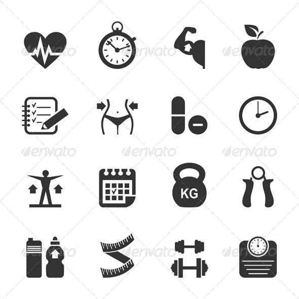 Medicine Icon - Health/Medicine Conceptual