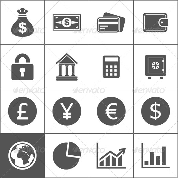 Money Icons - Concepts Business