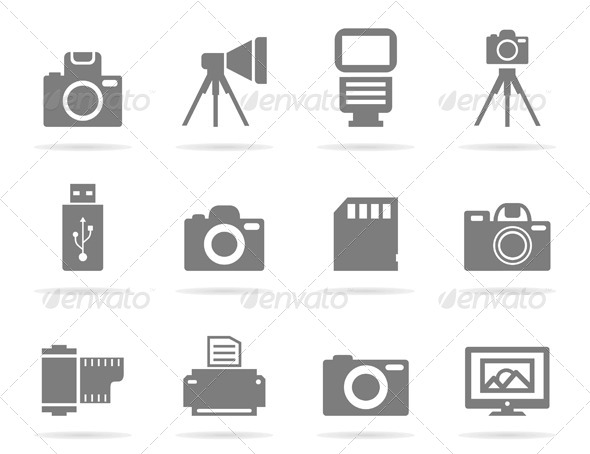 Photo an Icon - Retro Technology