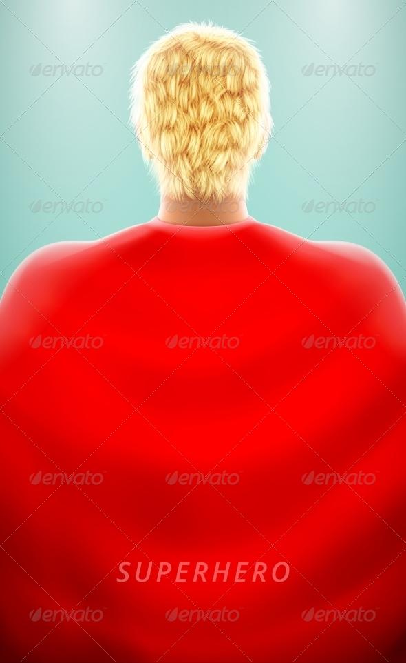 Super Hero - People Characters