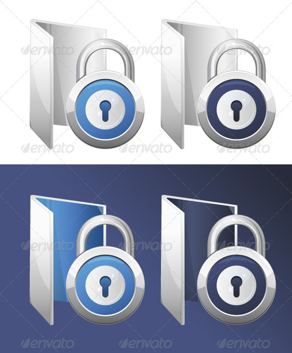 Secure Folder Illustration - Computers Technology