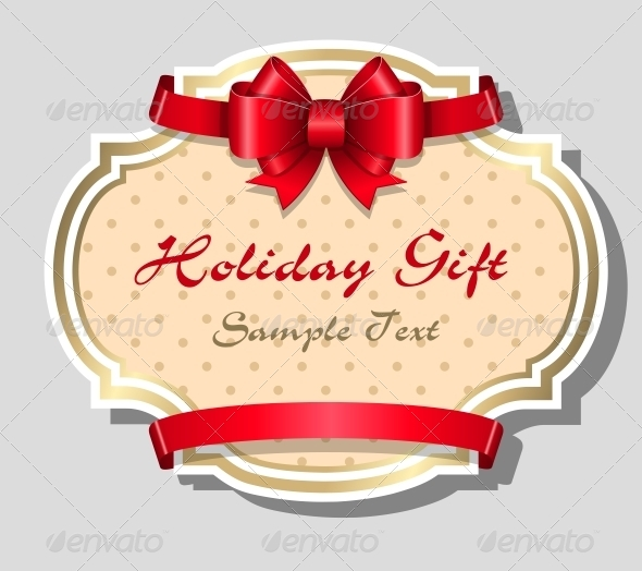 Holiday Gift Card Template - Miscellaneous Seasons/Holidays