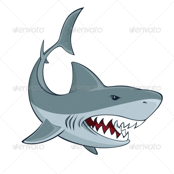 Shark Sign - Animals Characters