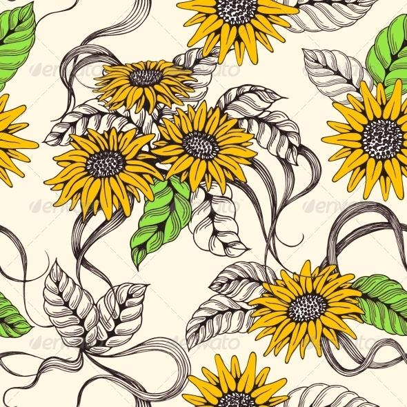 Romantic Sealmess Background - Flowers & Plants Nature